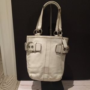 🍀🌸👠 Small  tote genuine leather Couch bag🍀🌸